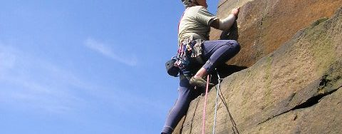 Climbing instructor