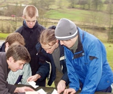 team building days Peak District