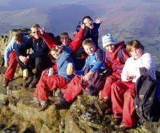 Outdoor Activities for Schools Peak District