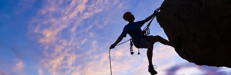 Rock climbing in the Peak District - aspire adventure activities