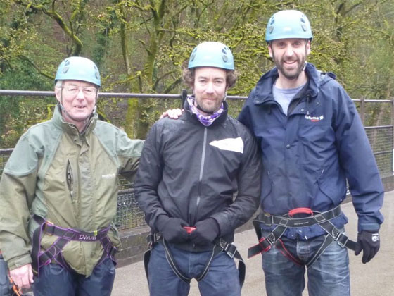abseiling millers dale