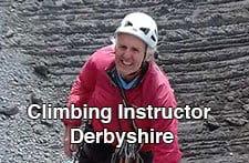 Climbing Instructor derbyshire