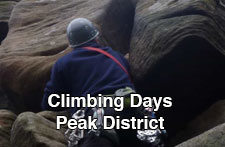 Climbing Days in the Peak district